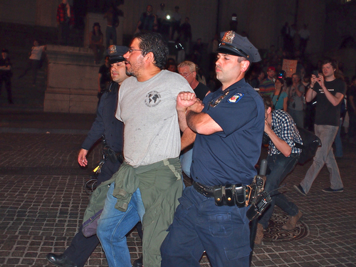 new york arrest